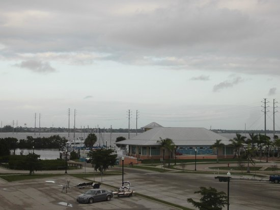 The Wyvern Hotel Punta Gorda: Gorgeous view from room