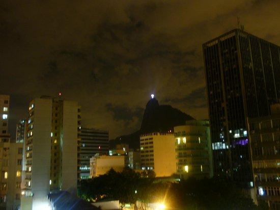 Mercure Botafogo Mourisco : Vista para o Cristo Redentor