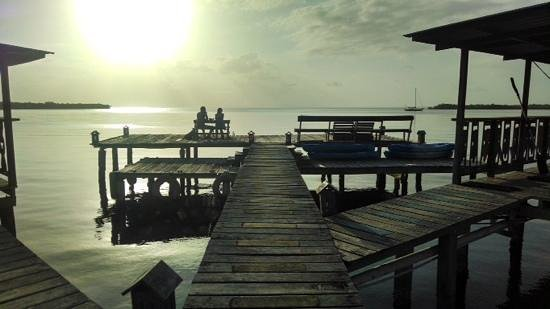 Bahia Del Sol: great pier belonging to the property