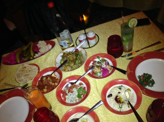 Levantine: Amazing Tabbouleh and the smoothest Hummus!