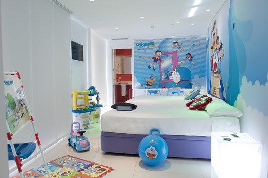 Ibi, İspanya: Habitación Doraemon