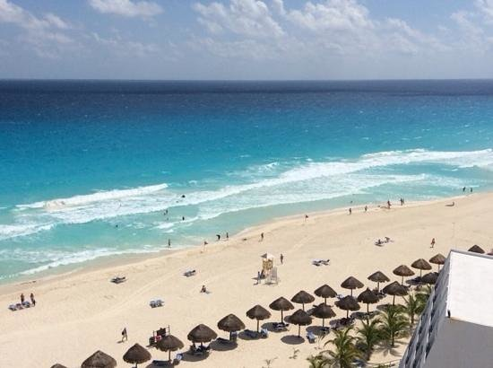 Hyatt Zilara Cancun: view from our room 836.....ahhh
