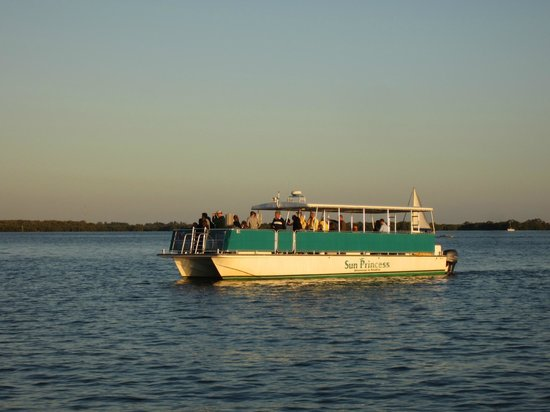 One of our guides picture of adventures in paradise for Fort myers fishing party boats