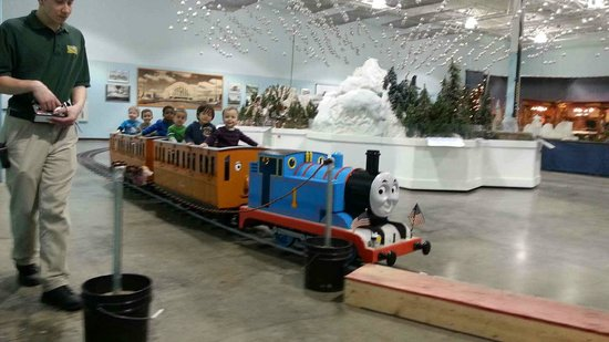 Absolutely Huge And He Loved It Picture Of Entertrainment Junction West Chester Tripadvisor