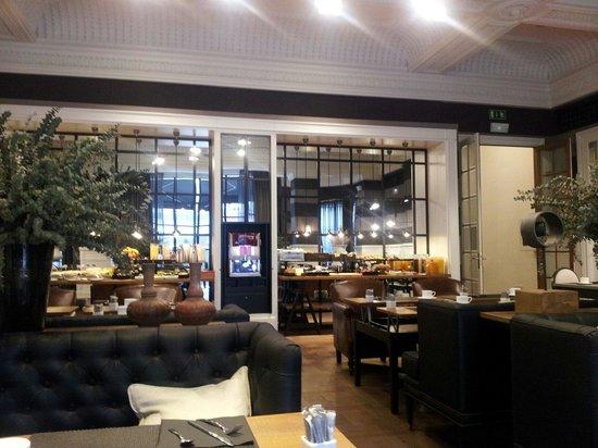 Hotel Granvia : Завтрак