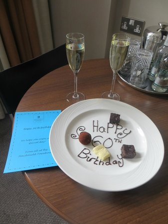 Townhouse Hotel Manchester : A lovely surprise, compliments of the hotel