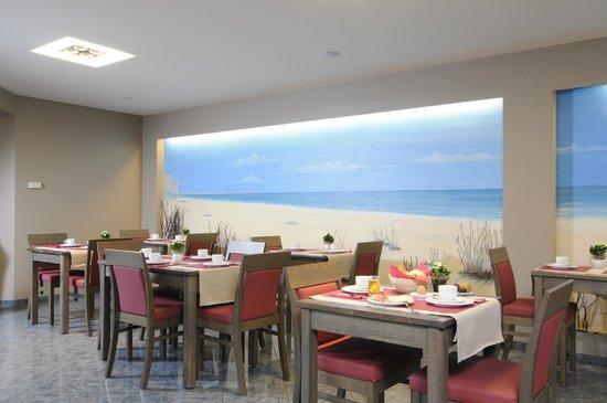 Hotel Adagio: Ontbijt met zicht op zee