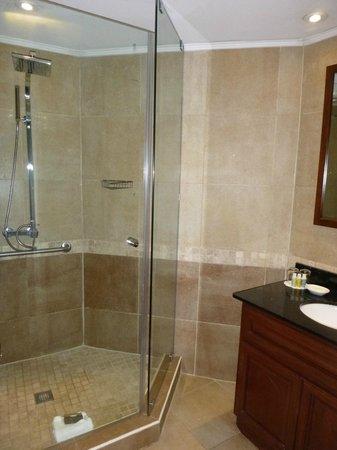Divi Aruba Phoenix Beach Resort : Unit bathroom