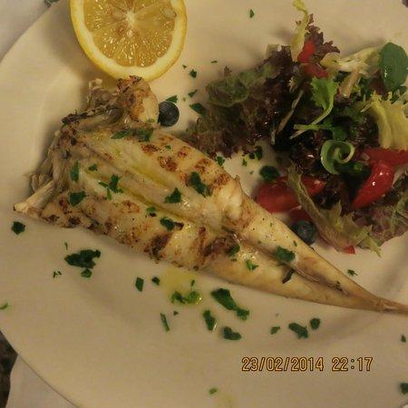 Antiche Carampane : Monk Fish.  so fresh ...