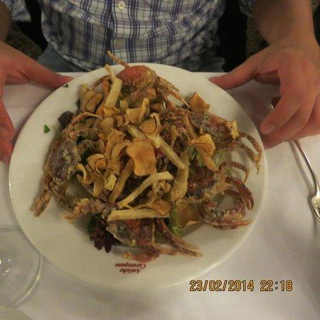 Antiche Carampane : Soft Shell Crab