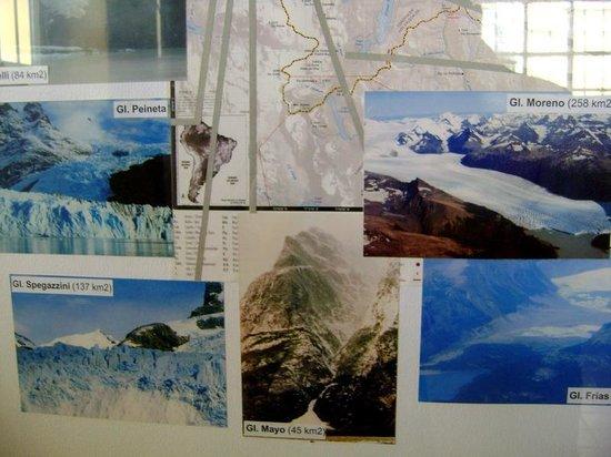 Centro de Interpretacion CALAFATE: hostoria de los glaciares