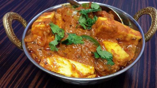 Lily's Vegetarian Indian Restaurant: Mouth-watering Kadai Paneer