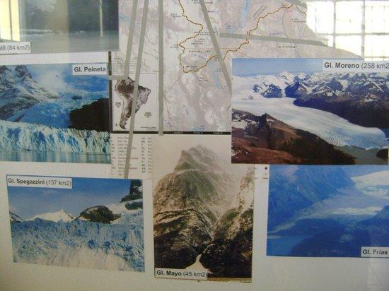 El Calafate Historical Interpretation Center: los glaciares de la zona y su retroceso historico