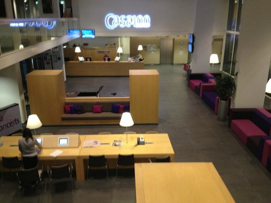 Hotel Casa: Lobby