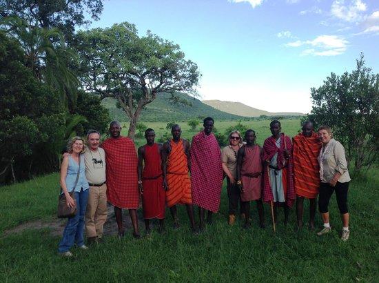 Enkewa Camp: Todos juntos