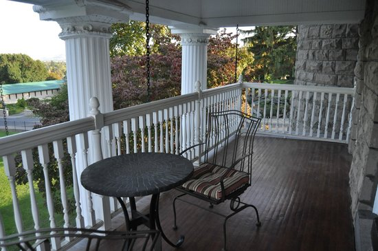 Rosedell Bed & Breakfast: Rosedell B&B - Balcony