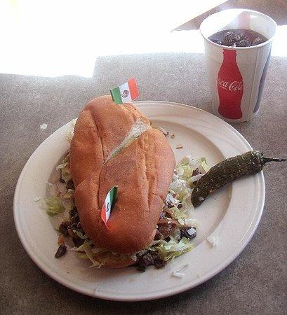 Taqueria Los Hermanos: Beef Torta