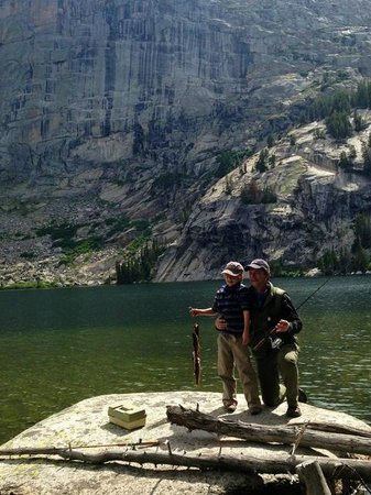 Allen's Diamond 4 Ranch: This is just one of many places to fish.