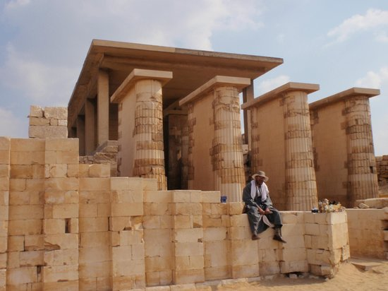 Step Pyramid of Djoser: The Funerary Complex Of Djoser