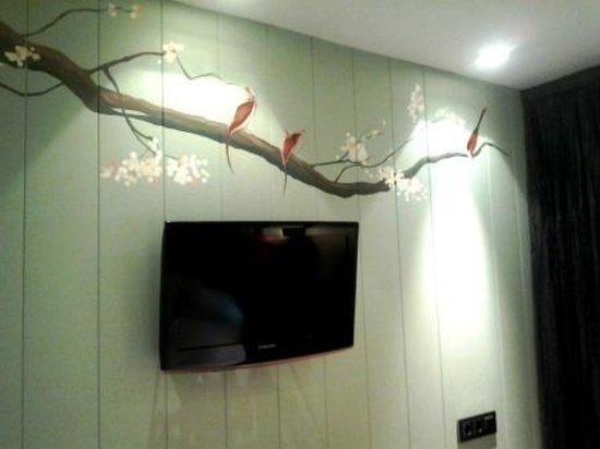 Hotel Santo Domingo Madrid: decorazione seconda stanza