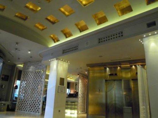 Hotel Santo Domingo Madrid: hall soffitto a volta