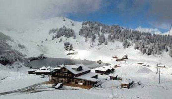 Villars-sur-Ollon, Zwitserland: Hôtel restaurant du Lac de Bretaye
