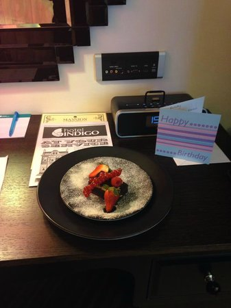Hotel Indigo London Kensington: Birthday treat