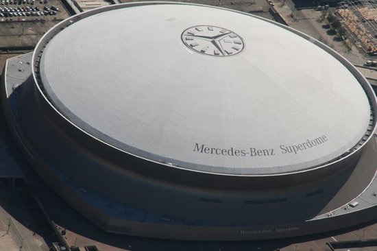Flight Academy of New Orleans - Aerial Tours: Lousiana Superdome