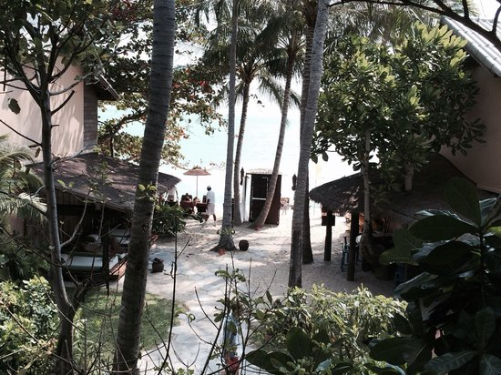 Buri Rasa Koh Phangan: Utsikt från hotellrummet