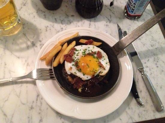 Lanes of London: the Duck Hash with a few fries added by me