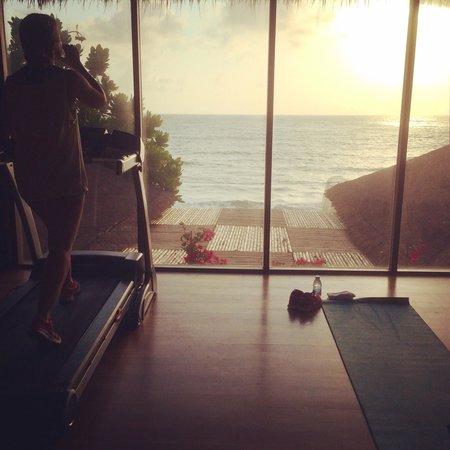 Buri Rasa Koh Phangan: Hotellets gym