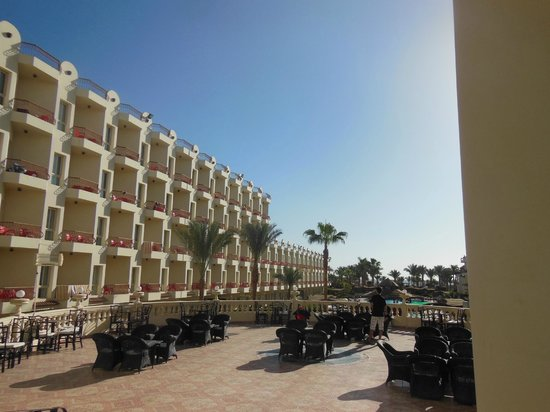 Mirage New Hawaii Resort and Spa: Вид на номер)