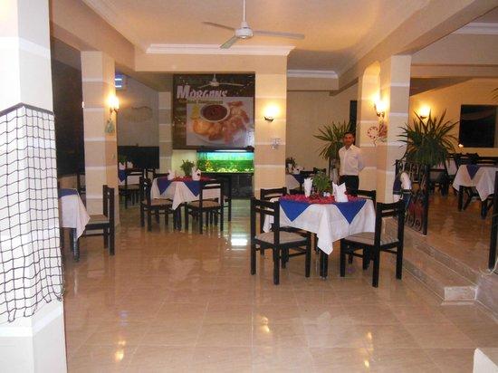 Mirage New Hawaii Resort and Spa: Рыбный ресторан