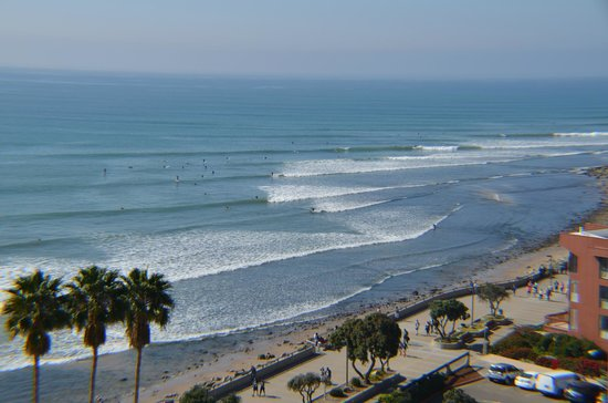 Crowne Plaza Ventura Beach: View from our room!