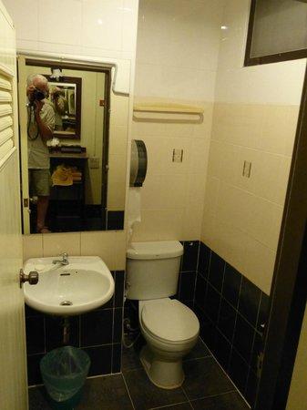 diamond park inn: la salle de bains