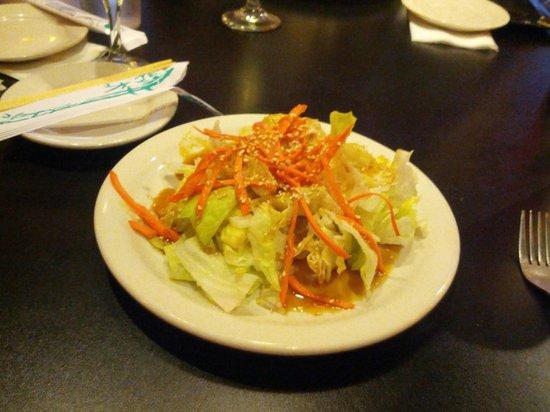 Sushi Xuan Asian Grill: Ginger salad