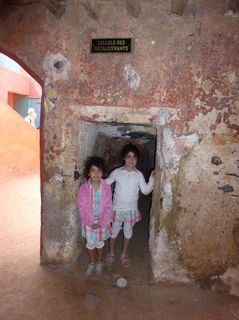 La Maison des Esclaves : la cellule des recalcitrants