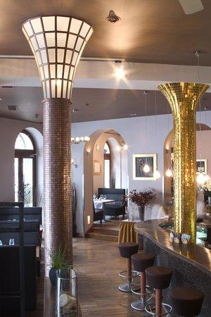 Hotel Nautilus: Restaurant Goldie