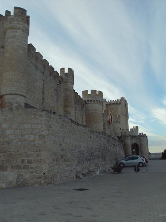 Castillo de Peñafiel: Está muy bien conservado.