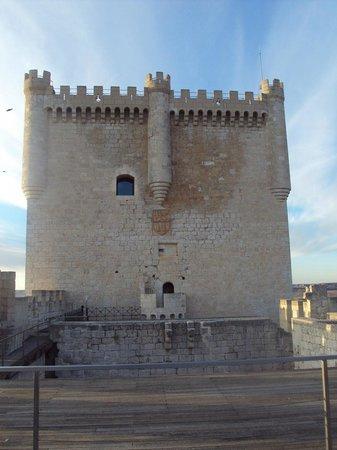 Castillo de Peñafiel: Torre del Homenaje.