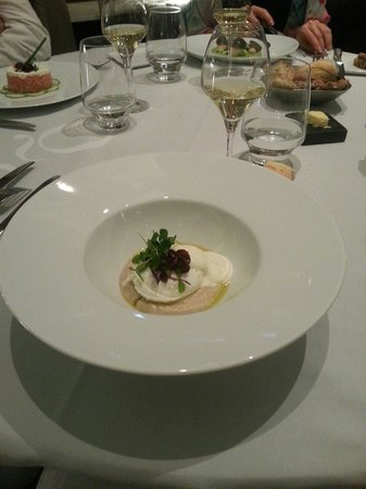 Hotel Metropole Geneve: Repas!
