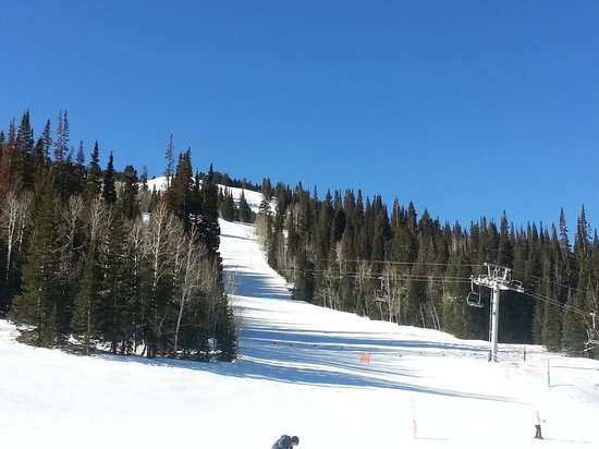 Solitude Mountain Resort: Blue sky, perfect snow: you have got to go