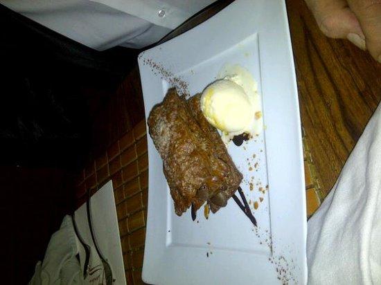 Dessert mille feuilles au chocolat glace au grand - La plancha maison laffitte ...