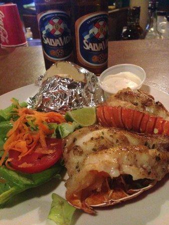 Foster's West Bay : Fresh yummy Lobsters