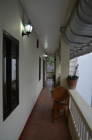 Mali Namphu Hotel: Corridor