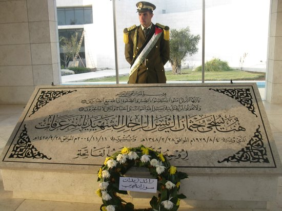 Ramallah, Lãnh thổ Palestine: Tomba di Arafat