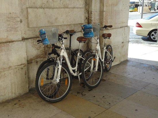 Lisbon Bike Tour: The bikes