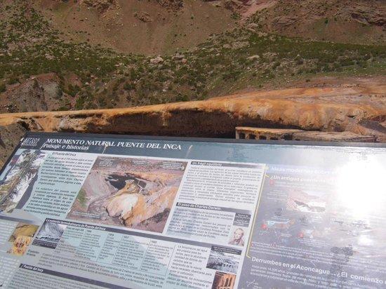 Puente del Inca : História