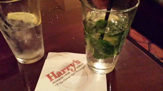 Harry's Seafood Bar and Grille : Mojito at Harry's