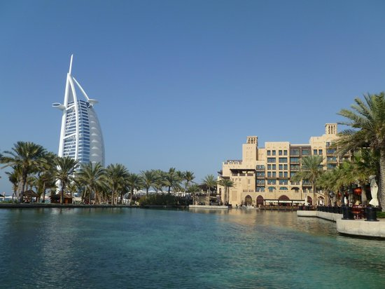 Jumeirah Dar Al Masyaf at Madinat Jumeirah : One of the other Madinet hotels with the nearby Burj Al Arab